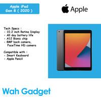 Apple iPad 8 2020 32GB/128GB Wifi Only Garansi 1 Tahun - 32GB, Gold