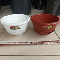 Pot Gantung CLOVER Lion. L20cm x T11cm. [Supplier Pot GROSIR]