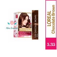 Loreal Excellence Crème Hair Color Chocolate Brown 5.35