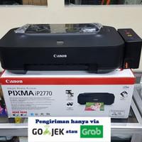 printer canon ip 2770 + infus tabung hitam bagus dan rapi