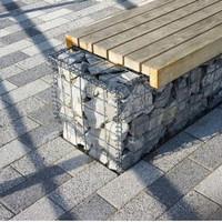 paket kayu merbau untuk kursi taman panjang