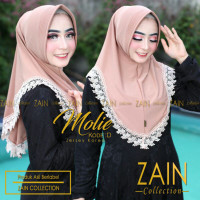 jilbab hijab bergo instant ZAIN MOLIE KODE D