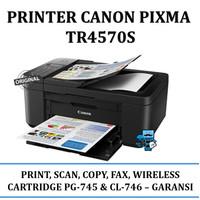 Printer Canon Pixma TR4570S TR 4570S (Print, Scan,Copy,Fax, Wifi)