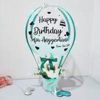 Hot Air Balloon Birthday / Balon Ulangtahun Kekinian - BL1020