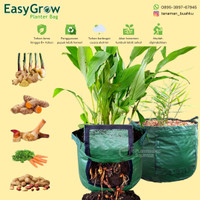 Rhizoma Planter Bag Large Easy Grow Pot Tanaman Jahe Herbal Polybag