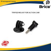 Tripod Mount Adapter Plus Scrub For Action Cam Gopro, Brica, Xiaomi