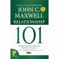 Buku Relationship 101 John C Maxwell