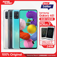 Samsung Galaxy A51 [8GB+128GB] Free Olike LCD Drawing Board 10""