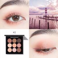 FOCALLURE Nine Colors Eyeshadow | FA-36 - NO.2