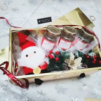 Hampers Realfood Natal - Kado Merry Christmas 3 botol Realfood NTL03