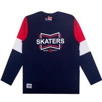 SKATERS T-Shirt SE067 NAVY