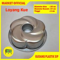 Loyang Press Cetakan Tulban Tanpa Sambungan Tipe Bunga LYTP02
