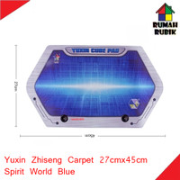 Yuxin Zhiseng Cube Pad Carpet Matras 27 x 45cm - Spirit World Blue