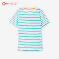 Moosca Kidswear Exclusive Bundling 2 pcs Stripe Tshirt - Kaos Anak