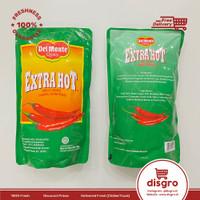 Del monte extra hot chilli sauce pouch 1kg Saus sambal delmonte