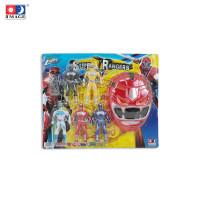 IMAGE TOYS mainan 5 Pcs Super Rangers W/ Light & Mask