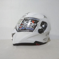 Helm GM Airborne FullFace White (Reject)