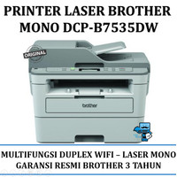 Printer Brother DCP-B7535DW Laser Mono Multifungsi Duplex & Wifi