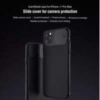 Nillkin Camshield Hardcase Case Casing iPhone 11/11 Pro/11 Pro Max - Hitam, iPhone11