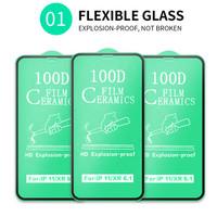 Tempered Glass Xiaomi redmi note Ceramic Film Full Cover Anti Shock - REDMI NOTE 5