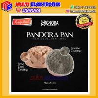 Signora Pandora Pan Rose Gold - Loyang Cetakan Kue , Cake & Bolu
