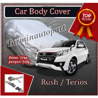 selimut sarung cover body mobil terios rush free pengikat ban