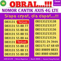 Perdana Axis Nomor Cantik Axis 4G Couple 888 89 5252 5353 6565 ABAB