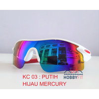 Kacamata anti UV Sunglasses Sepeda - Sepeda Motor-sporty outdoor KC 03