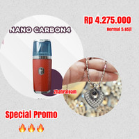 Paket Nano Spray V4 Carbon + Kalung Word Magic Pendant ORIGINAL