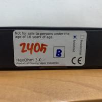 Hexohm V3 blue mechanical mod vapor anodized vapezoo - second bekas