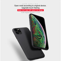 Nillkin Frosted Casing Case Hardcase iPhone 11/11 Pro/11 Pro Max - Hitam, iPhone11