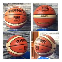 Bola basket gg6x molten semi kulit import gratis pentil