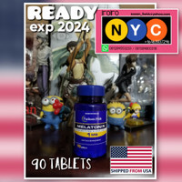 1 mg Melatonin Puritans Pride Puritan Supplement Tidur Import USA 1mg