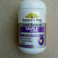 nature's nature natures way triple joint action glucosamine msm 60