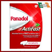 Panadol Actifast Obat Sakit Kepala Singapore Version Made in Ireland