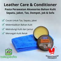 Leather Care / Pelembab Bahan Kulit / Fresh Up Natural Beeswax 40 gram