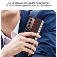 Case Samsung Galaxy Z Fold 2 Case Fiber Corbon Case Cover