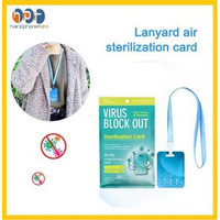 Virus Block Out Virus Shut Out Card / Sterilization Protection Card