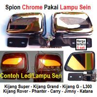 spion chrome+ led kijang super grand g rover panther carry l300 katana