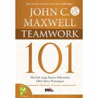 Buku Teamwork 101 John C Maxwell