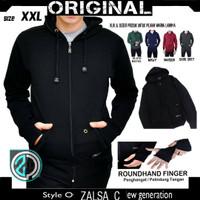 Sweater Polos ROUNDHAND Hoodie Full Premium | Jaket | Switer | Jumbo