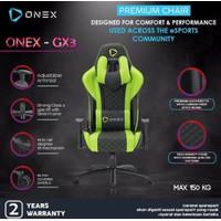ONEX GX3 Premium Quality Gaming Chair Kursi - GREEN