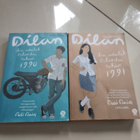Novel Indonesia preloved Dilan -Pidi Baiq novel second harga satuan