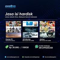 Pembayaran Copy Hardisk 381gb a.n ALBA