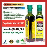 Promo Minyak Habbatussauda 250ml Rumman Habbasyi Oil Minyak Jinten