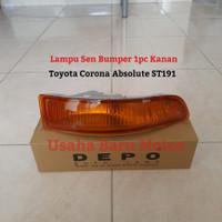 Lampu Sen Sein Bumper Bemper 1pc Kanan Rh Toyota Corona Absolut ST191