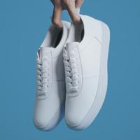 WOLF WHITE  ManNeedMe x Lvnatica  Sepatu Sneakers Pria Casual ORIGINAL - Putih, 40