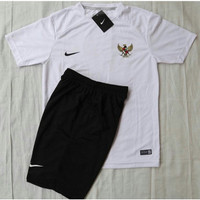 Jersey training timnas indonesia garuda - stelan olahraga Futsal/bola - Putih