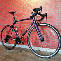 Road Bike Cinelli Vigorelli Purple SRAM Rim Brake, READY BRAND NEW