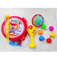 Mainan Bayi Kerincingan Gelang Ecek ecek Cirara - Musikal Concert Baby